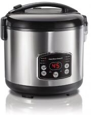 Hamilton Beach Digital Rice Cooker And Food Steamer, 4.75 Litre