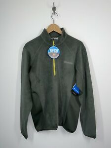 NWT Columbia Heat 360 II 1/2 Zip Fleece Pullover Omni Heat Sz Medium RETAIL $90