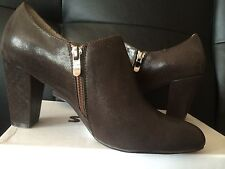 SAKO-OR Brown Ankle Fashion Boots Size US 8 EUR 39