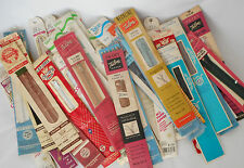 Sewing Notions, 40 Vintage Zippers NIP Lot of Mixed Brands Sizes and Colors