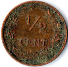 COIN / THE NETHERLANDS / 1/2 CENT 1906  #WT3201