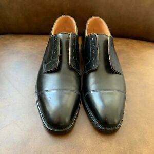 NWOT Brooks Brothers Peal & Co Perforated Cap Toe Dress Shoes Size 8.5