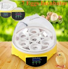 Small 7 Eggs incubator Hatcher Automatic Digital Tool For Chicken Duck Poultry