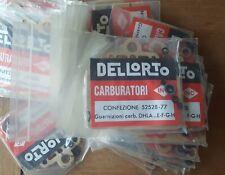 Alfa Romeo Dellorto DHLA ... E-F-G-h. Carburettor Gasket Set (two carbs) Genuine