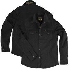 Rokker Black Jack Rider Shirt schwarz Motorrad Biker Hemd Gr. 5XL / XXXXXL