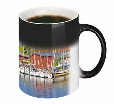 Eckernförde Hafen Städtetasse Keramikbecher Kaffeebecher Zaubertassen 0,3l*