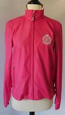 NEW RALPH LAUREN Womens Hot Pink Rain Coat Athletic Jacket Size Small S