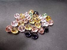30pcs 15mm x 10mm Crystal Glass Rondelle Beads - Assorted / Mixed SUNCATCHER