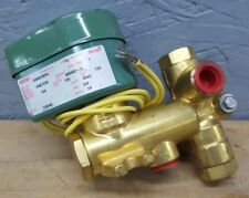 ASCO 8300D009U RED-HAT 120V-AC 3/8 IN NPT SOLENOID VALVE 3/2 Normally Open