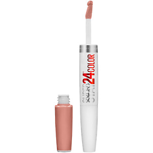 Maybelline SuperStay 24 2-Step Liquid Lipstick Makeup (Absolute Taupe 230)
