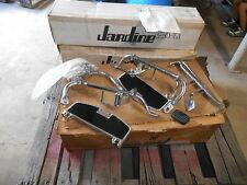 NOS Triple A Black Chrome Foot Board Mounting Honda CB350F CB 350 F