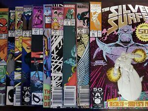 Marvel Mixed Copper Age Lot (10) Silver Surfer Spider-Man Dr. Strange Keys