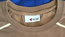 T shirt Maglia Sweet Years Marrone Chiaro. Taglia L Stupenda