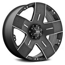 17x9 Ballistic Offroad 901 Wheels Hyjak Black Rims 6x135 +00 FORD F150 20 18