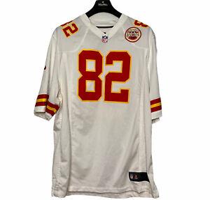 Nike Kansas City Chiefs #82 Dwayne Bowe Red Game On Field Jersey Size XL NFL