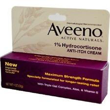 Aveeno, Active Naturals, 1% Hydrocortisone, Anti-Itch Cream,28g