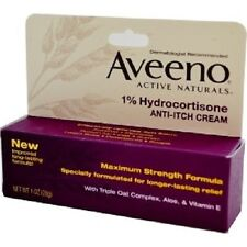 AVEENO Active Naturals,, 1% idrocortisone, Anti-Prurito Crema, 28g