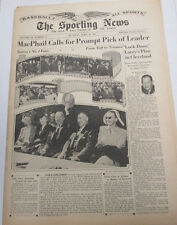 The Sporting News Newspaper  From Taft to Truman  April  19, 1945   101014lm-eB3
