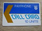 Test - Telefonkarte Irland (4IRE) / Call Card 10 Units / VOLL-ungebraucht (mint)