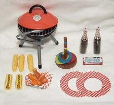 UPICK Barbeque Picnic Supplies Accessories American Girl Our Generation Doll BBQ