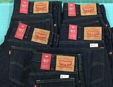 "Levi 517 ""Rigid"" Boot Cut Jeans"