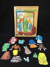 VTG 1966 Barbie Skipper Skooter Paper Dolls Whitman #1976