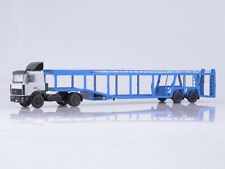scale model 1:43 MAZ-5432 with a semi-truck 934410 (А908)