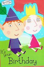 Ben And Holly's Pequeño Reino Calidad Cumpleaños Tarjeta excelentes gráficos