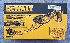 DEWALT DSC355D1 Cordless 20-Volt Max Oscillating Tool Kit With Bag