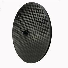 SALE!premium carbon disc wheel 700c clincher track&road/TT bike light disc wheel