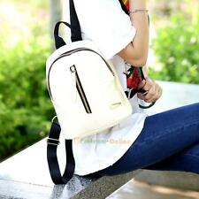 Women Backpack Leather Handbag Shoulder Bag Rucksack Purse Satchel Schoolbag Lot