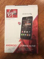 LG Optimus F3 Titanium Silver (Virgin Mobile) Smartphone Sprint 4G Network