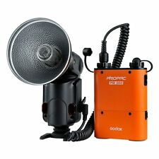 Godox Witstro AD360 Powerful Outdoor Flash Speedlite + PB960 Battery Pack Orange