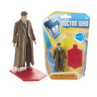 Doctor Who TV Show - Wave 3 Action Figure - 10th Doctor Brown Suit & Long Coat