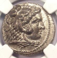Alexander the Great III AR Tetradrachm Coin 336-323 BC - Certified NGC Choice XF