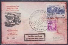 Courrier Roquettes Autriche Grossglockner Fracas 1962 Grand Lettre 2. Exact Post