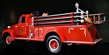 Fire Engine Truck Ford Built 1 Metal Model Vintage 1940 T 24 Pickup Car 16 A 25