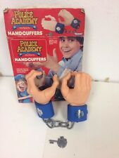1988 Warner Bros Inc. Vintage Police Academy Handcuffers Role Play Set