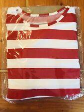 Where's Waldo Halloween Costume, Kids size: Large. New
