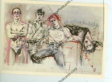 "MILOU HERMUS-COFFEESHOP DOWNTOWN AMSTERDAM-1979-(MISC2-70*) 4""X6"" POSTCARD"