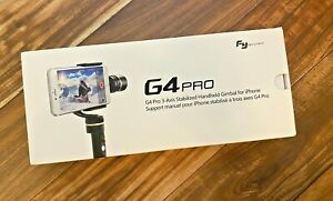 New Feiyu Tech G4 Pro 3-Axis Handheld Stabilized Gimbal iPhone Android Samsung