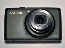 CANON POWER SHOT S95 10.0MP Digital Camera - Black