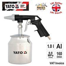 Yato professionnel air Sablage Pistolet en aluminium 1 L 6.3 mm 8 MPA YT-2376