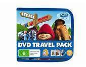 Kids 3 DVD Travel Pack Ice Age + Alvin & the Chipmunks + Rio BRAND NEW SEALED