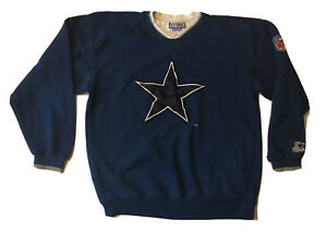 Vintage Dallas Cowboys Starter PRO LINE SWEATSHIRT Size Medium Star Logo 90s NFL