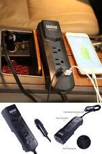 DC12V to AC110V Car Vehicle Cigarette Lighter Portable Outlet Plug In Adapter