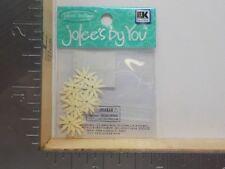 JOLEE/'S BY YOU IVORY CORN FLOWER EMBELLISHMENTS NEW NIP A8610