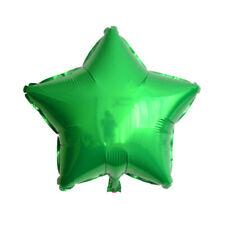 "20"" Plain Coloured Star Foil Balloons Party Helium Quality Wedding Decoration"