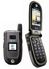 New Unlocked AT&T Motorola Tundra VA76r Rugged Flip Phone