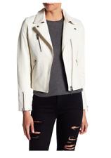 NWT $937 DOMA Reed Genuine Lambskin Leather Moto Jacket Size Small